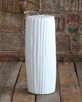 HomArt Latitude Ceramic Vase - Tall Narrow - Lrg Matte White
