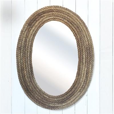 HomArt Bridgeport Rope Mirror - Oval