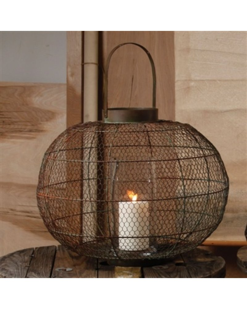 HomArt Globe Party Lantern - Lrg - Natural