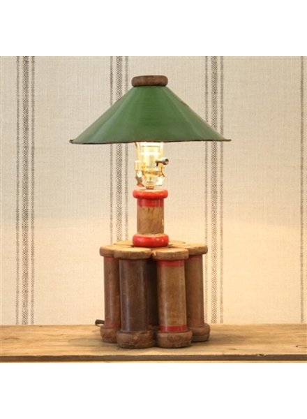 Lighting areohome homart piper wood spool lamp lrg greentooth Images