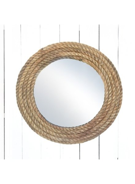 HomArt Bridgeport Rope Mirror - Round