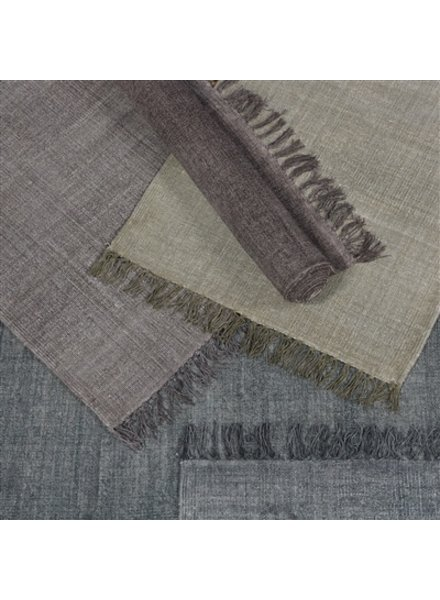 HomArt Stonewashed Cotton Rug, 4x6  Stonewashed Grey