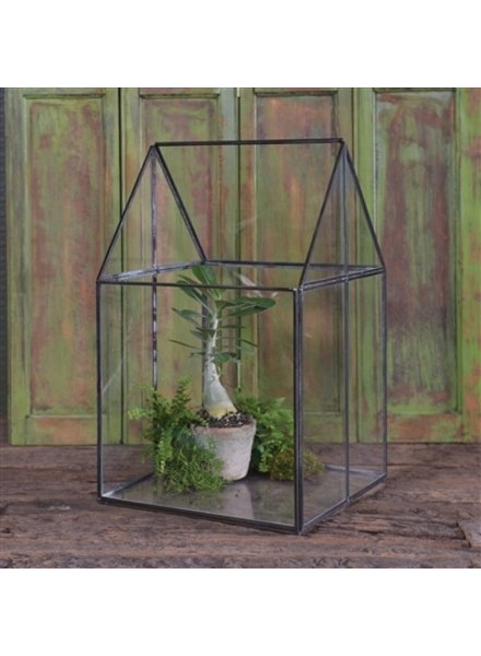 HomArt Pierre House Glass Terrarium - Large