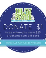 DONATION Donation $1 for The Pet Rescue Center