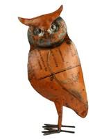 HomArt Reclaimed Metal Owl - Sm