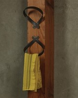 Folded Iron Wall Hook Natural