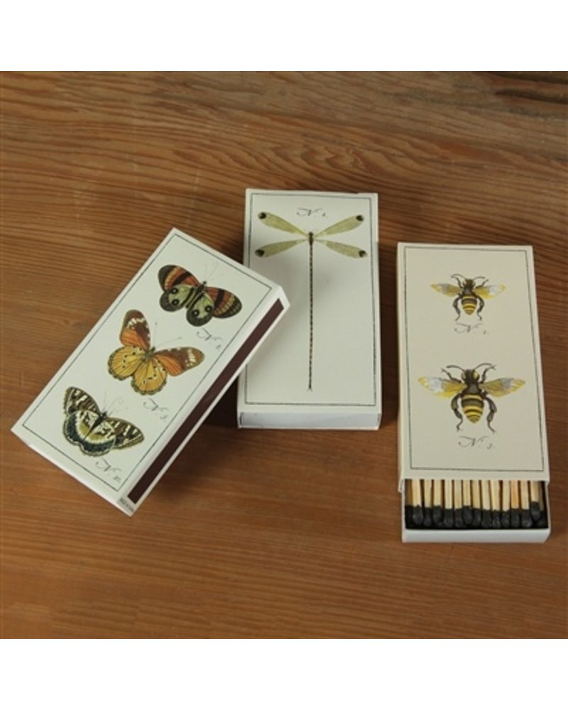 HomArt Butterfly HomArt Insect Matches - Set of 3 Boxes