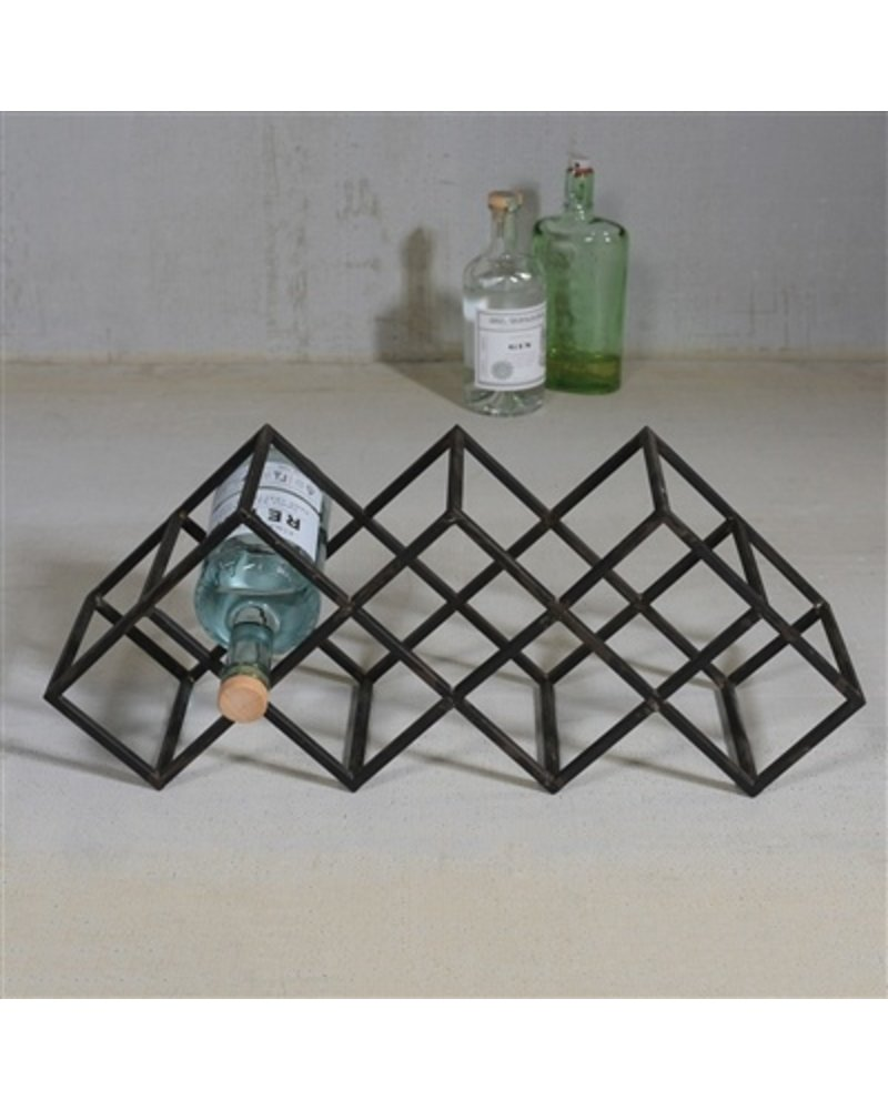 HomArt Graft Iron Bottle Wine Rack