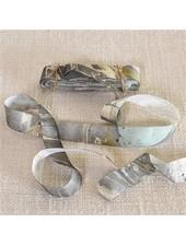 HomArt Marbleized Grosgrain Ribbon - Aqua