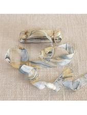 HomArt Marbleized Grosgrain Ribbon - Blue