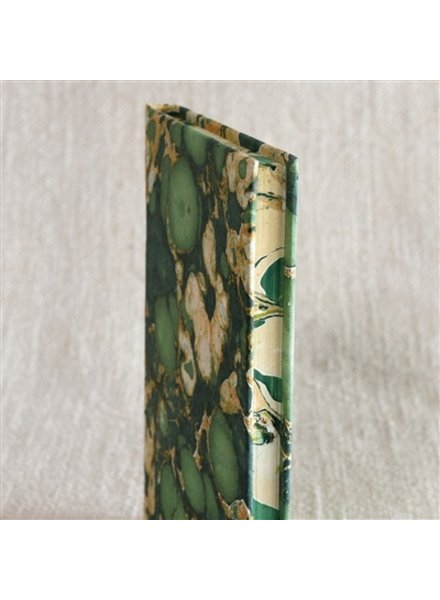 HomArt Marbleized Paper Journal - Green