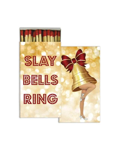 HomArt Slay Bells Ring HomArt Matches - Set of 3 Boxes