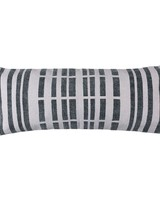 HomArt Block Print Lumbar Pillow 14x36 - Broken Stripe