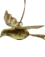HomArt Gilt Bird Metal Ornament-Antique Gold