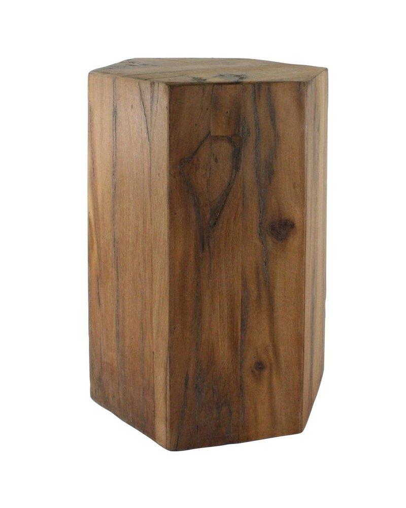HomArt Hexagonal Wood Block - Lrg - Natural
