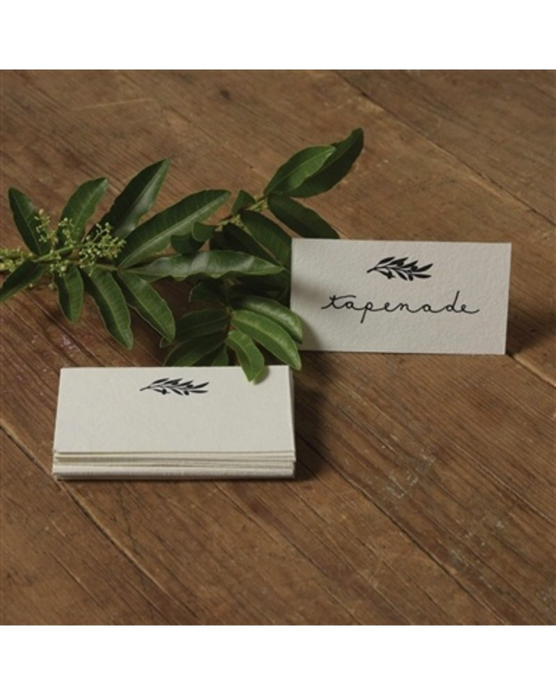 HomArt Olive Branch Printed Paper Cards - Box of 32