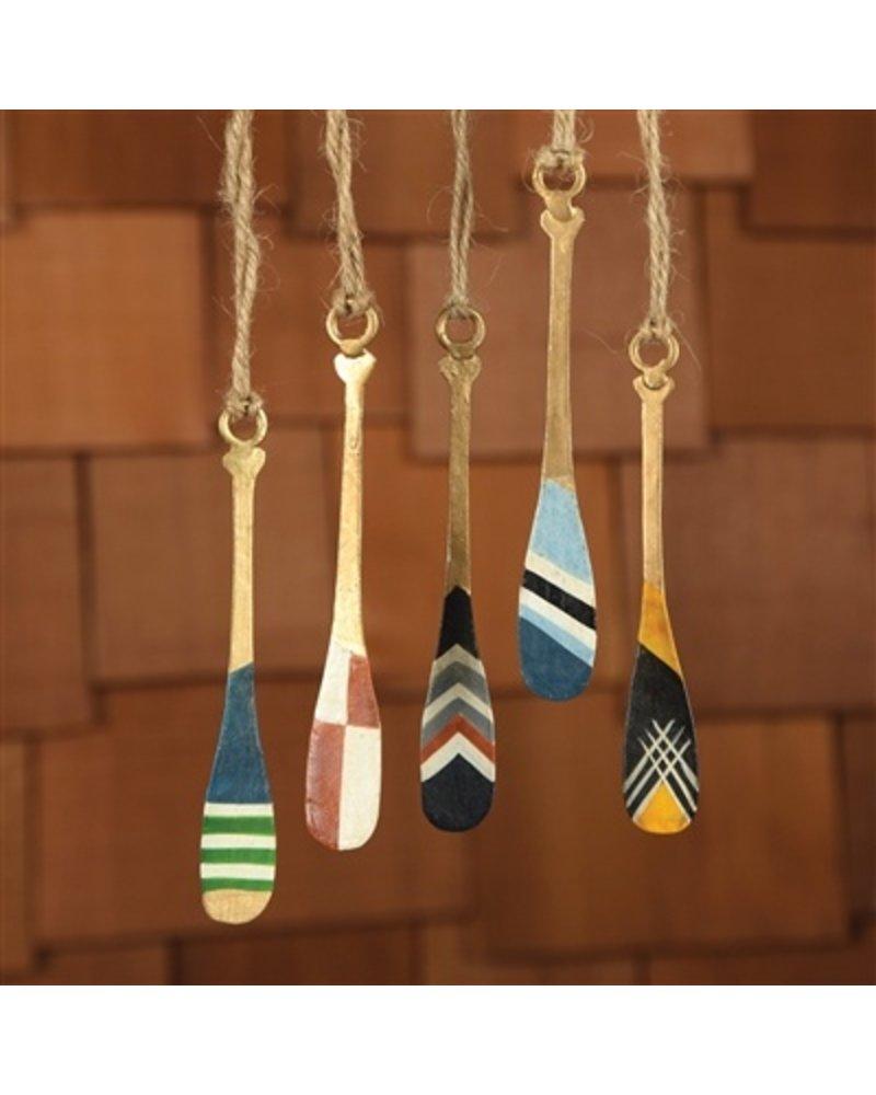 HomArt Painted Metal Paddles - Set of 5