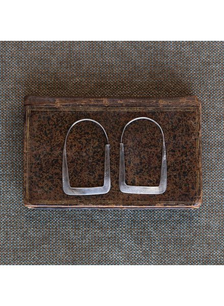 OraTen Arch Silver Earrings