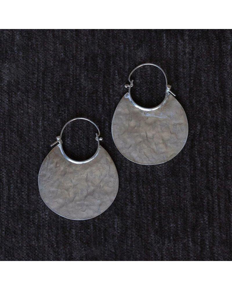 OraTen Silver Earrings, Drop