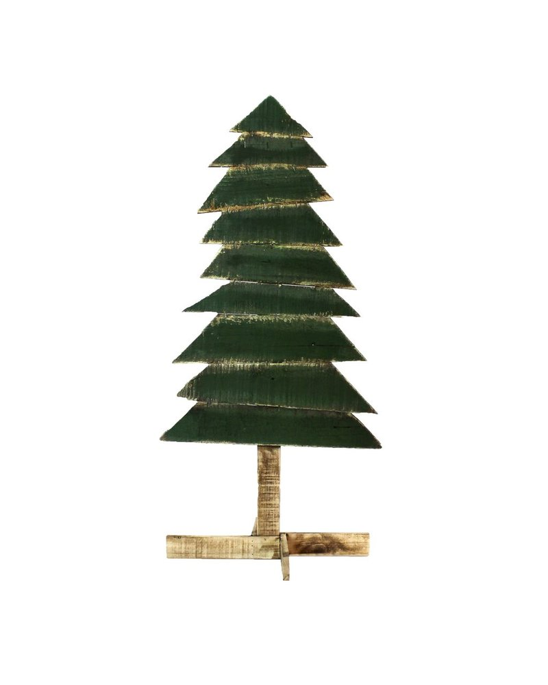 HomArt Wood Slat Christmas Tree - Lrg