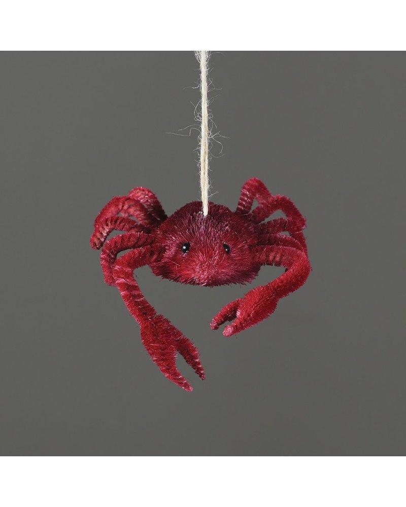 HomArt Crab Bottle Brush Ornament
