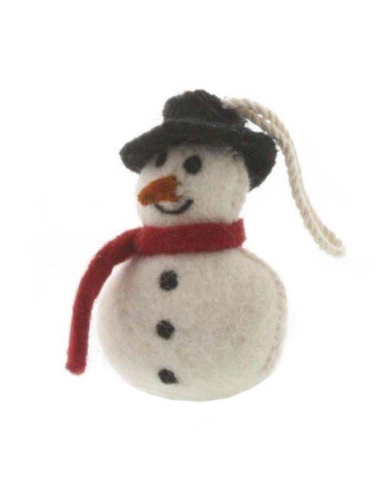 HomArt Felt Snowman Ornament