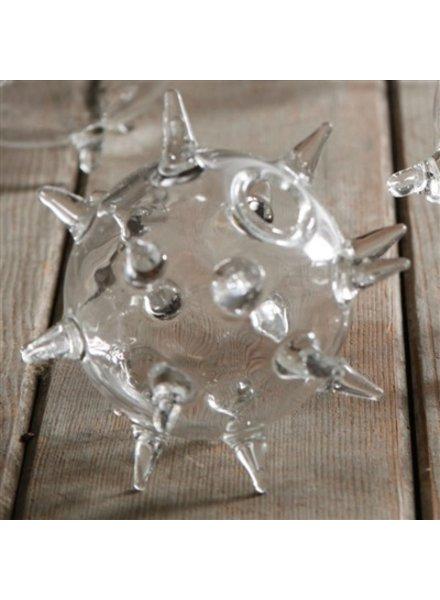 HomArt Sputnik Glass Vase - Sm - Clear