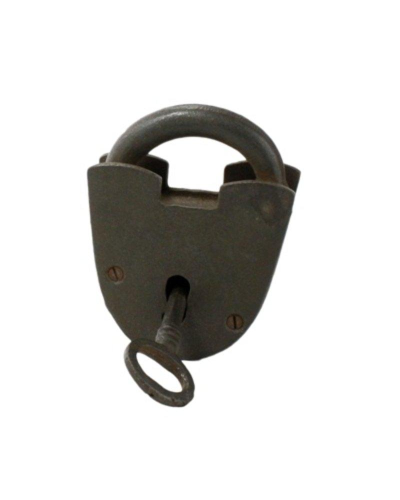 HomArt Lock - Cast Iron - Natural