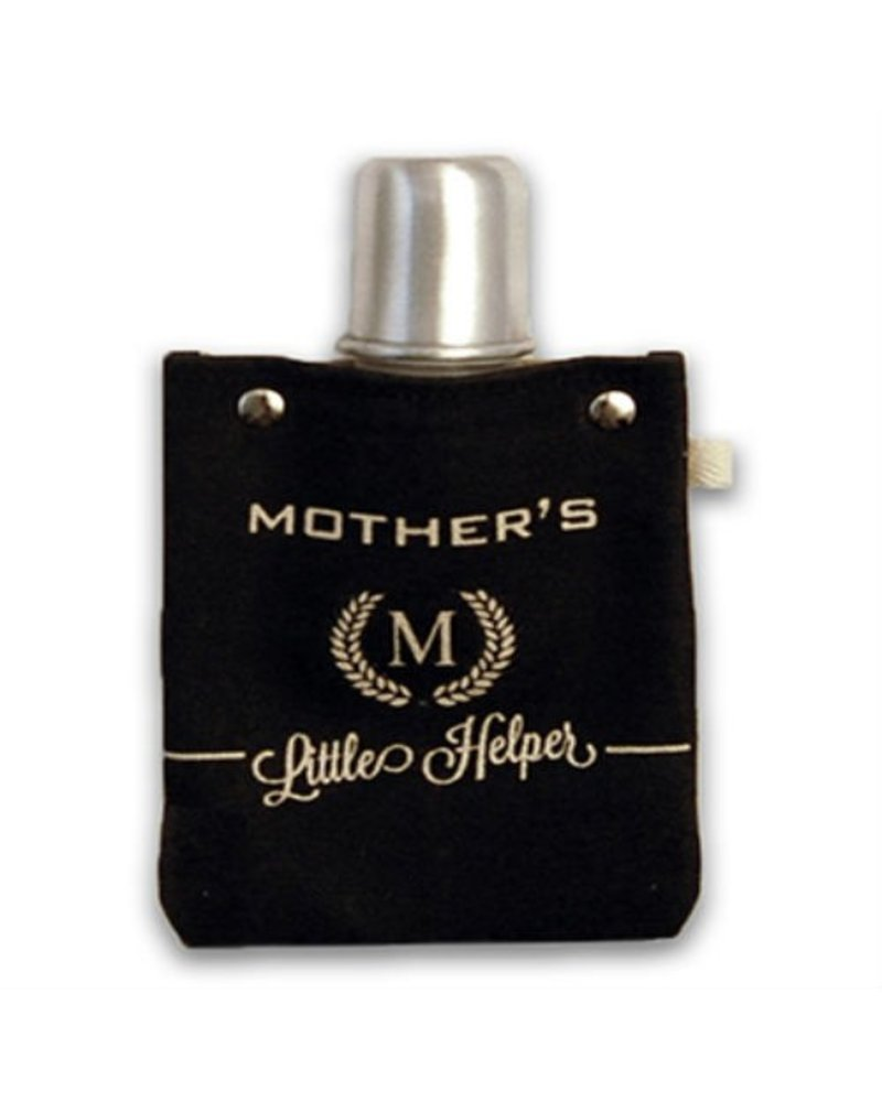 Clay Company Mother's Helper Canvas Flask 4oz