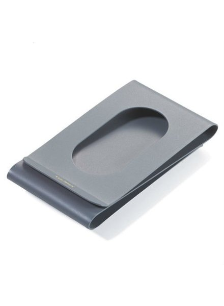 Brand Node Money Clip Double Sided Grey