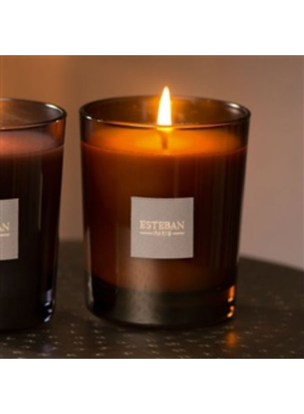 Esteban Ebene Et Cuir Scented Candle