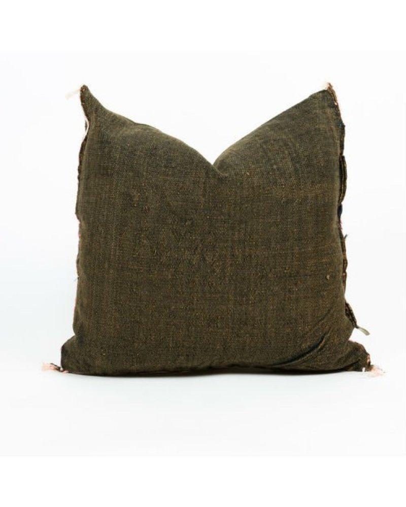 Bryar Wolf Moroccan Pillow - Bou Print 20x20