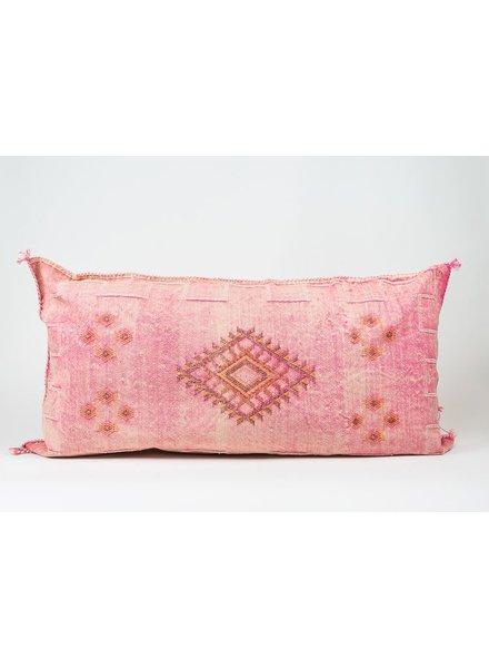 Bryar Wolf Moroccan Pillow - Amina Print 22x38