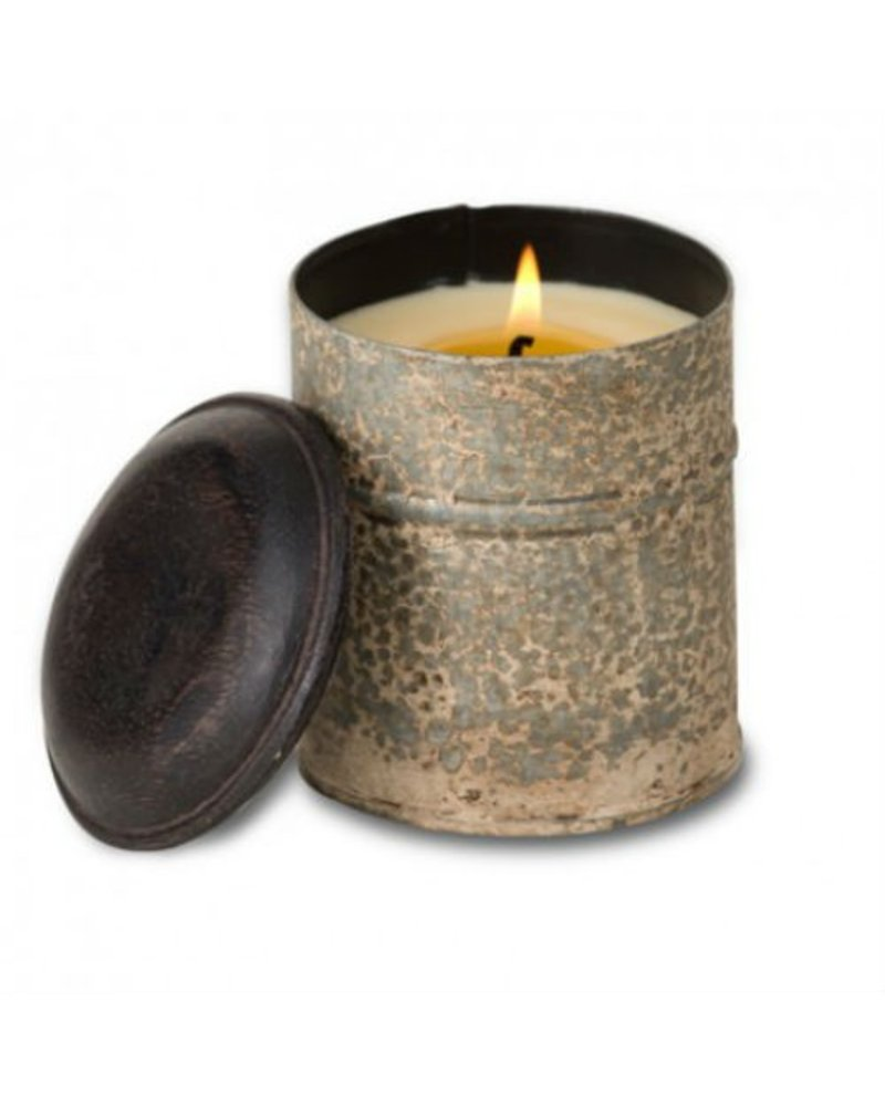 Ginger Patchouli Spice Tin Candle