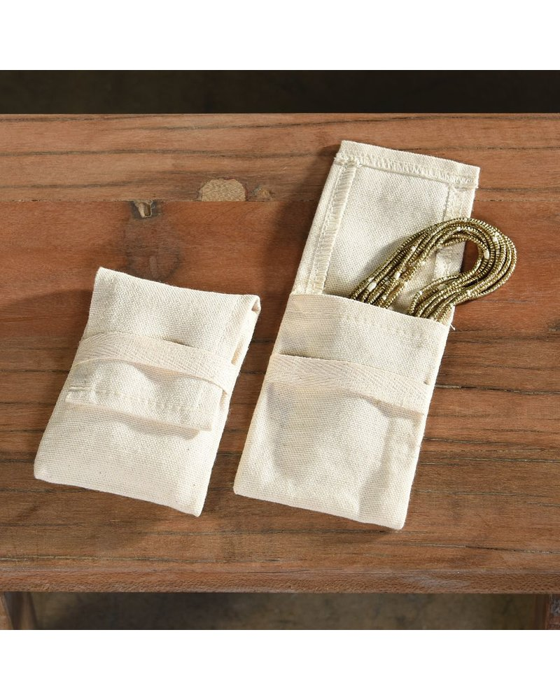 HomArt Jewelry Cotton Pouch - Med