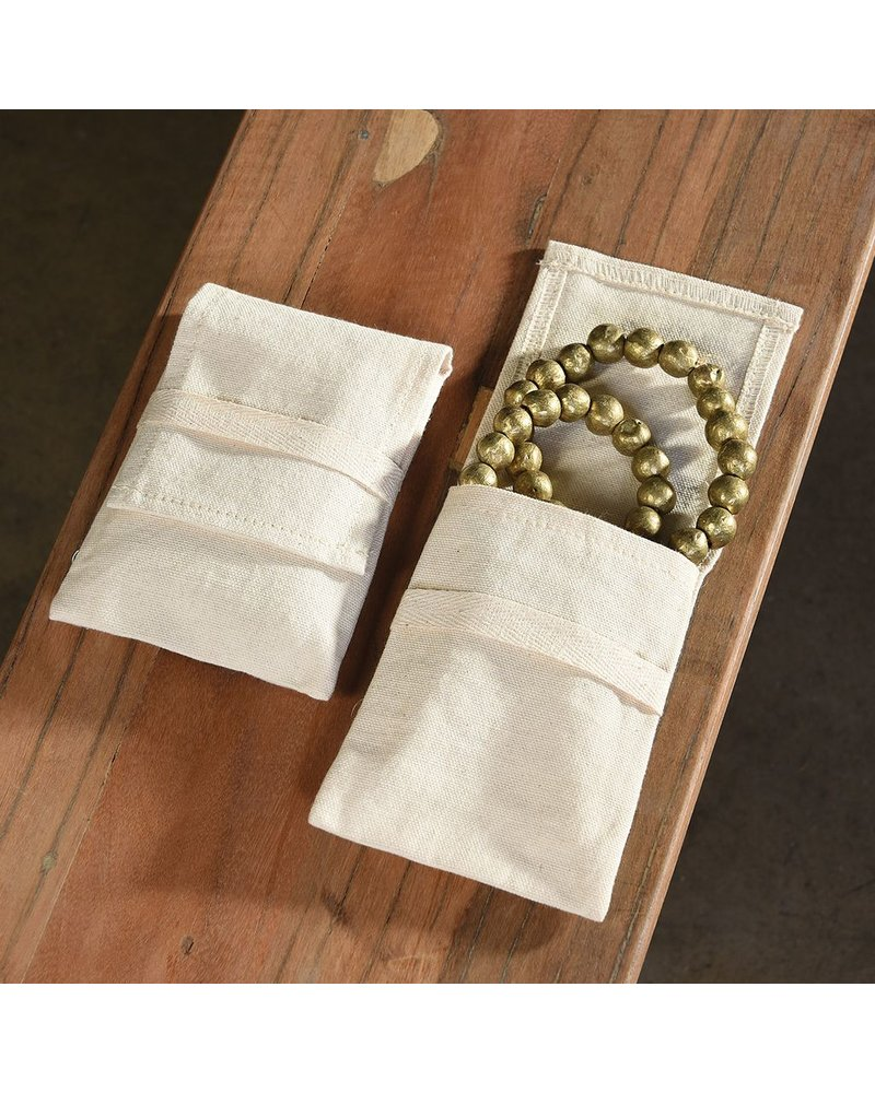 HomArt Jewelry Cotton Pouch - Lrg