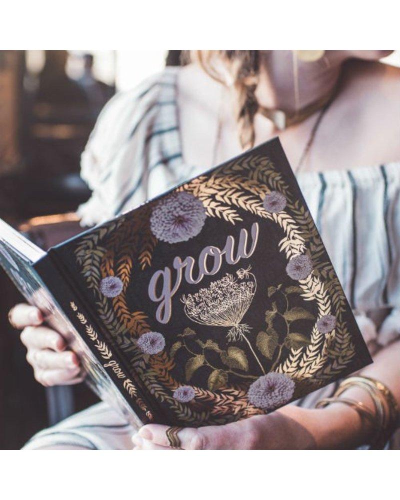 Papaya Grow Hardcover Journal
