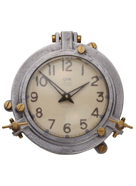 Pendulux Quartermaster Wall Clock White