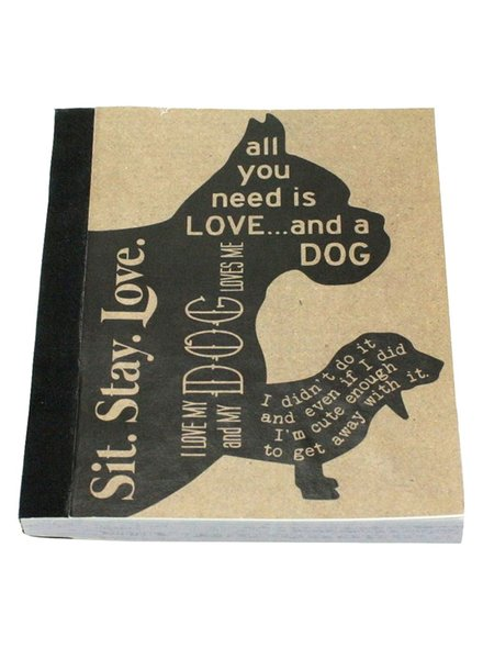 HomArt Recycled Paper Journal Man's Best Friend