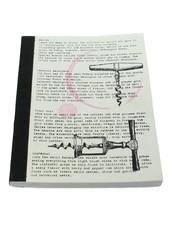 HomArt Recycled Paper Journal Wine - Corkscrew