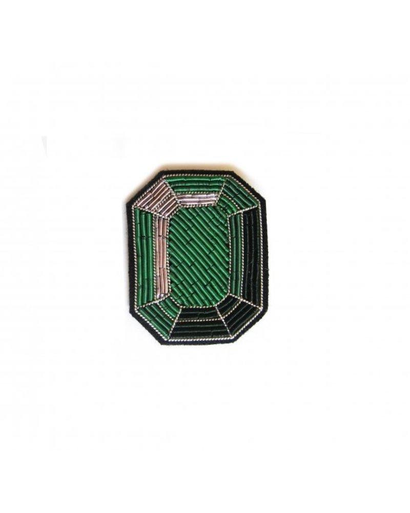 Macon & Lesquoy Pins Emerald Pin