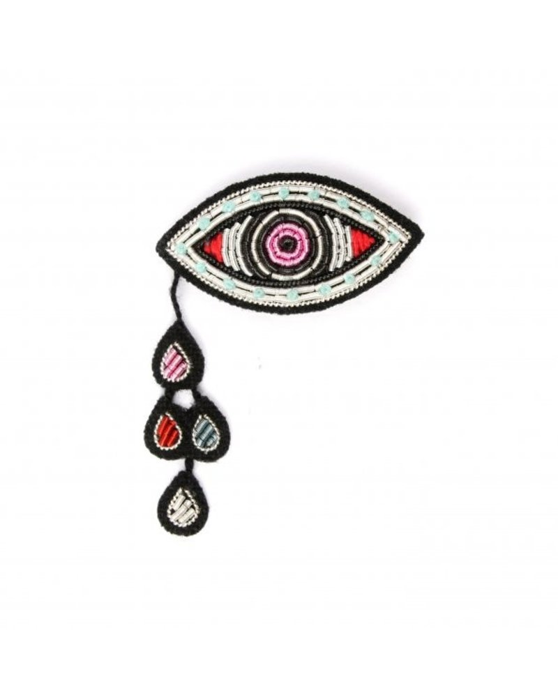 Macon & Lesquoy Pins Eye and Tears Pin