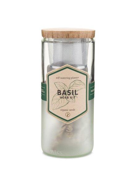 Modern Sprout Eco Planter - Organic Basil