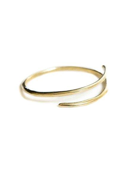 Marisa Mason Eternity Brass Bangle