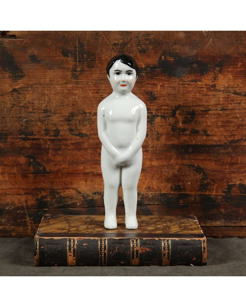 HomArt Rico Porcelain Boy Figurine White