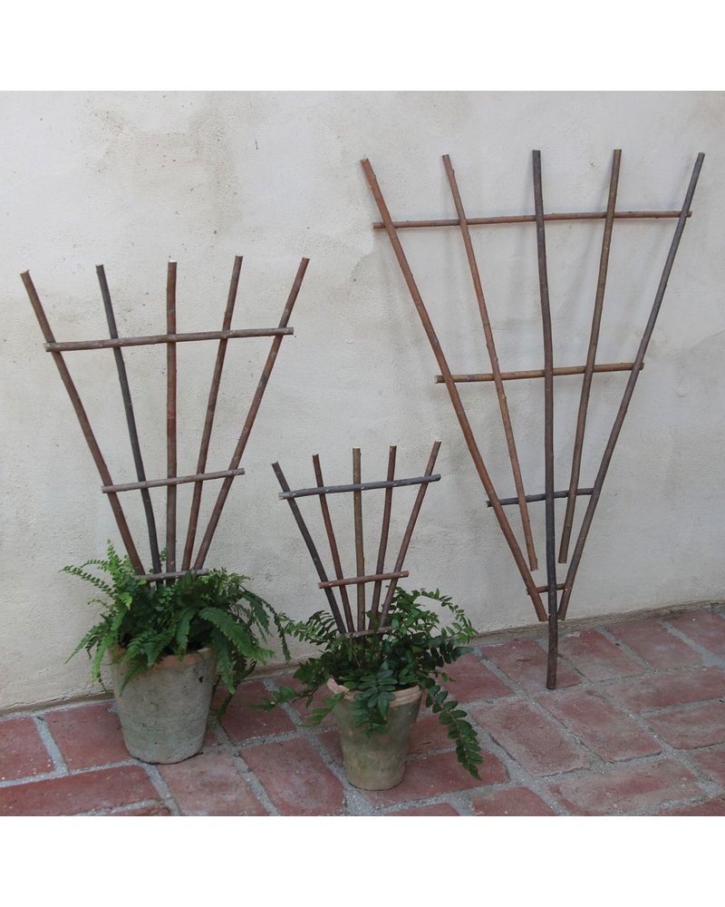 HomArt Staked Twig Trellis - Lrg - Natural