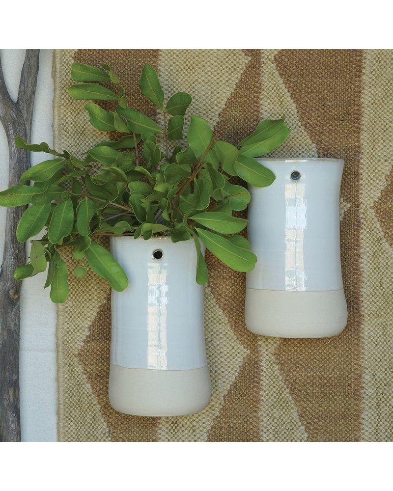 HomArt Mason Ceramic Hanging Vase - Tall