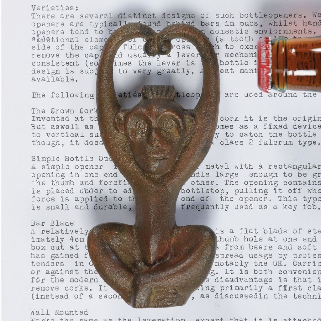 Homart Monkey Cast Iron Bottle Opener