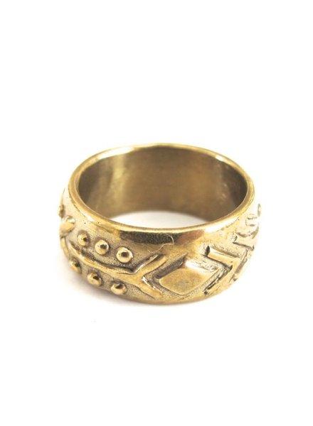 Marisa Mason Sierra Brass Ring