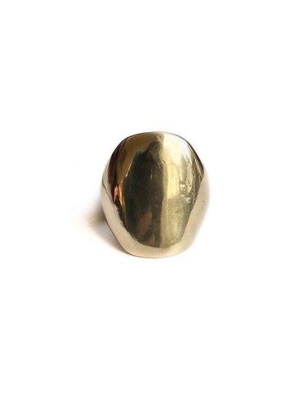 Marisa Mason Puerto Oversize Silver Ring